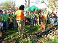 Casey Trees_ training volunteer planters
