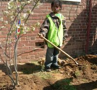 Casey Trees_young tree planter in Anacostia