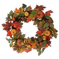 Pumpkin-thanksgiving-wreath