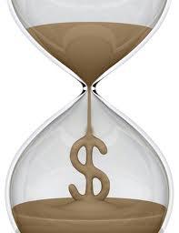 Hourglass-money
