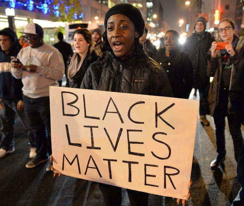 Black lives matter images-Getty