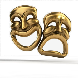 Comedy-tragedy-masks