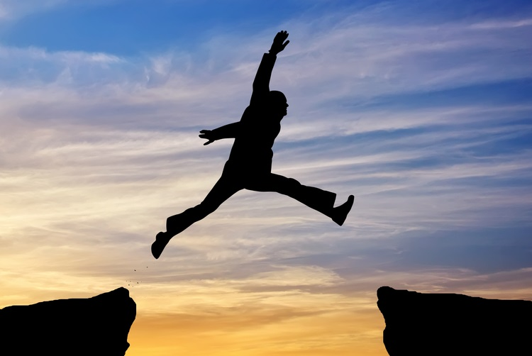 Jumping-across