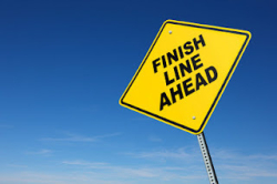 Finish-line-ahead