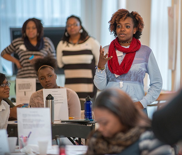 NOVO Pre Young black girls Conf Gathering 4172016_DSC7603C