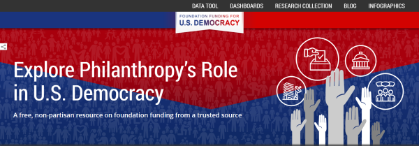 Funding democracy grab