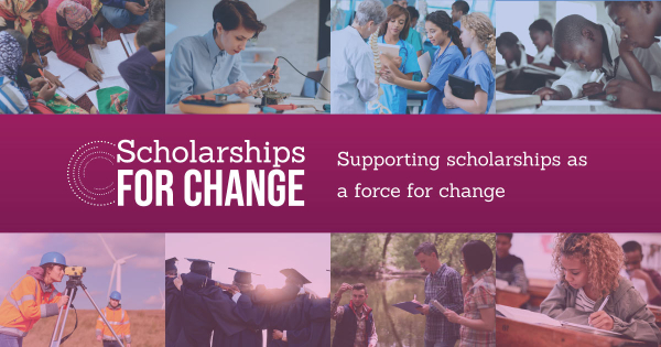 Scholarships for change